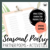 Seasonal Partner Poetry {SPRING & SUMMER BUNDLE}