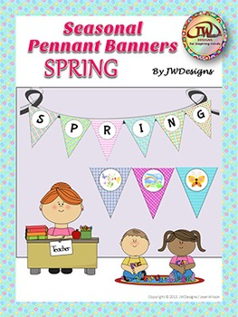 SPRING Bunting - Banners - Pennants
