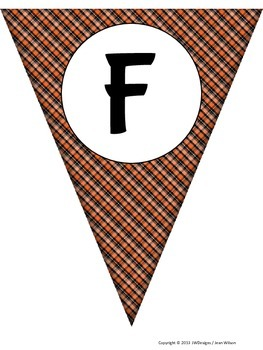 FALL Pennants - Banners - Bunting