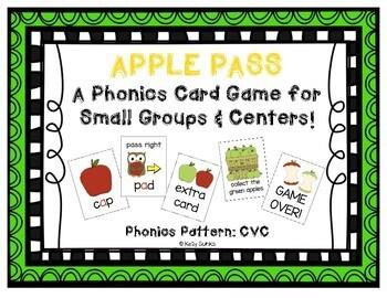 Seasonal Phonics Game Cards for Every Month CVC GROWING BUNDLE