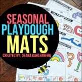 Seasonal Playdough Mats