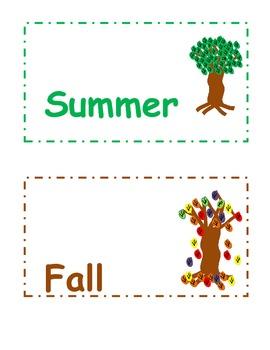 Seasonal Pocket Chart