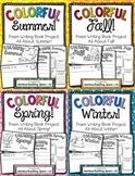 Seasonal Poem Writing -- Colorful Seasons Poetry Books **BUNDLE**
