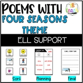 Poems with Theme of Seasons ELL supported