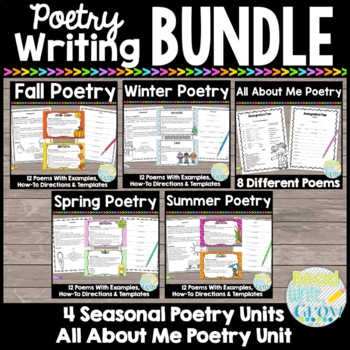 Seasonal Poetry BUNDLE