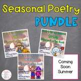Seasonal Poetry Interactive Tab Books GROWING Bundle