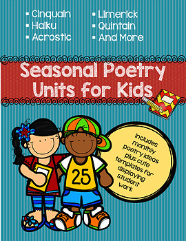Seasonal Poetry Units