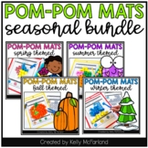 Seasonal Pom Pom Mats