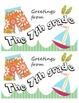 Seasonal Postcard Templates - 7th grade