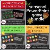 Seasonal PowerPoint Games Bundle