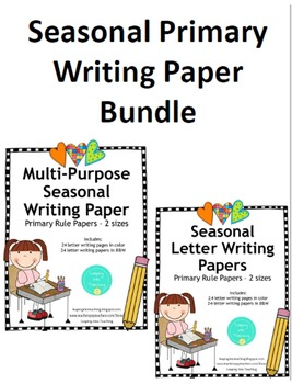 Seasonal Primary Papers Bundle - Multi-Purpose and Letter Writing