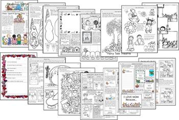 SEASONAL-TIVITIES SPRING Printables, Crafts, Ideas for Spring