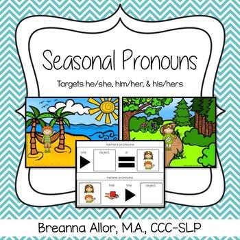 Seasonal Pronoun Activity