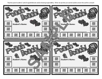 Seasonal Punch A Bunch Unit (Black and White) from Teacher's Clubhouse