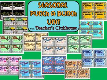 Seasonal Punch A Bunch Unit from Teacher's Clubhouse