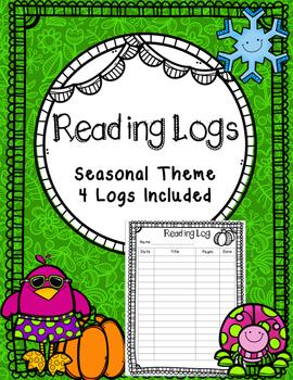 Seasonal Reading Logs