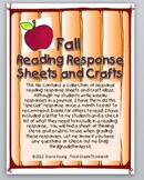 Seasonal Reading Response Sheets and Craft Ideas for Fall