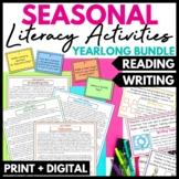 Seasonal Reading and Writing Activities GROWING Bundle