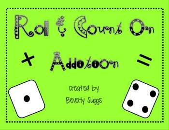 Seasonal Roll & Count On Additional Printables For Math Centers