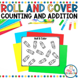 Roll and Color Cover the Numbers Seasonal Game Mats