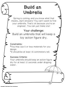 STEM for Springtime: Build an Umbrella