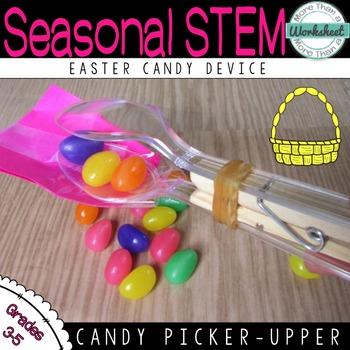 STEM for Easter: Jelly Bean Picker Upper