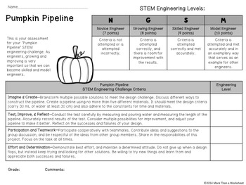 Halloween STEM: Pumpkin Pipeline