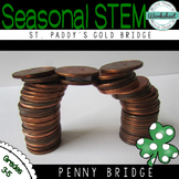 STEM Challenge St. Patrick's Day STEM: Coin Bridge