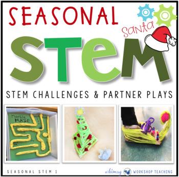 Seasonal STEM with Partner Plays - Christmas STEM