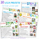 30 Seasonal STEM Projects with Partner Plays - Full Year Bundle