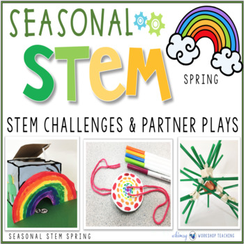 Seasonal STEM with Partner Plays - SPRING STEM