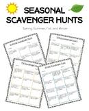 Seasonal Scavenger Hunts (Fall, Winter, Summer, Spring)