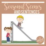 Seasonal Scenes & Sentences| SPRING| Language & Narrative