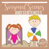 Seasonal Scenes & Sentences| SUMMER| Language & Narrative