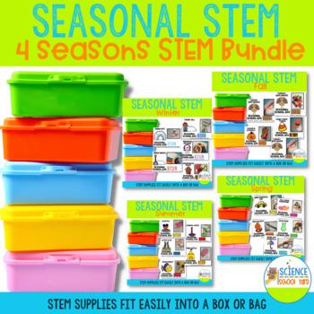 Seasonal School Box 4 Seasons STEM Bundle