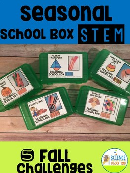 Seasonal School Box FALL STEM Pack