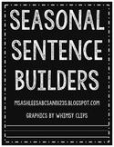 Seasonal Sentence Builders