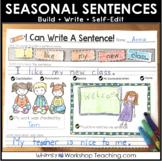 Seasonal Sentence Buildling Kit