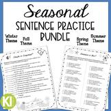 Seasonal Bundle for Simple, Compound & Complex Sentences