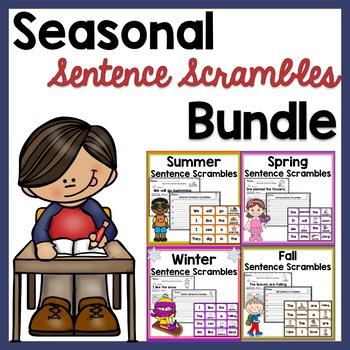 Seasonal Sentence Scrambles