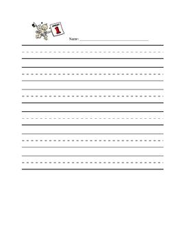 Seasonal Short Story Writing Pages