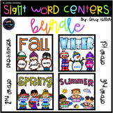 Seasonal Sight Word Bundle [Dolch Literacy Centers]