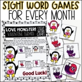 Seasonal Sight Word Games - BUNDLE