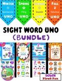 Seasonal Sight Word UNO Bundle (First)
