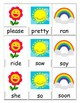 Seasonal Sight Word UNO Bundle (Primer)