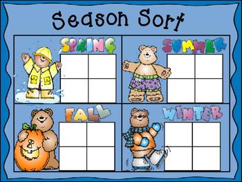 Seasonal Sights Bingo