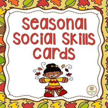 Seasonal Social Skills:  Fall