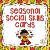 Social Skills:  Fall, prediction, inferences, social filter, emotions