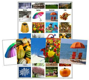 Seasonal Sorting Cards
