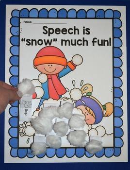 Seasonal Speech Therapy Craft BUNDLE {articulation craftivities}